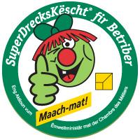 Label SuperDrecksKëscht fir Betriber