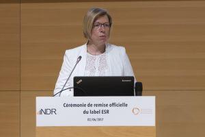 Fabienne Annet - Remise Label ESR